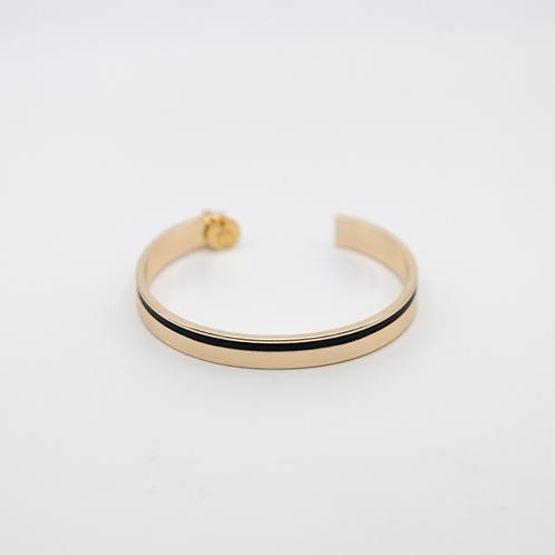 Bracelet jonc SARAH doré