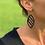 Thumbnail: Boucles d'oreilles MAÏA plaqué or