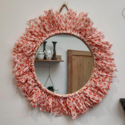 Miroir tissu