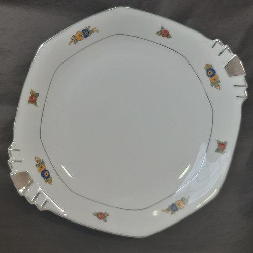 Plat à gâteau porcelaine de Limoges