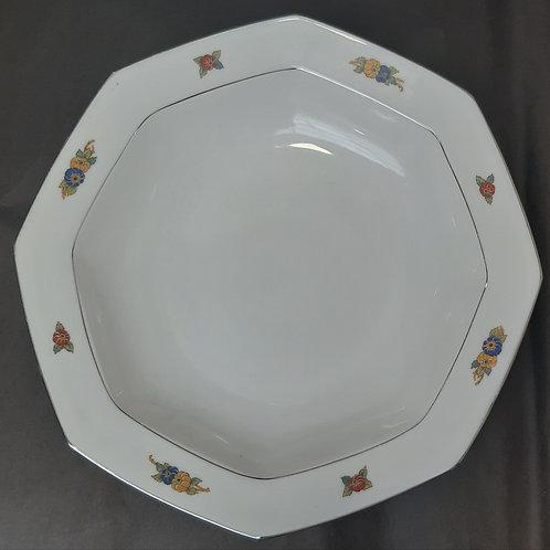 Grand plat rond porcelaine de Limoges