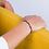 Thumbnail: Bracelet VICTORIA plaqué or