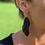 Thumbnail: Boucles d'oreilles GABRIELLE plaqué or