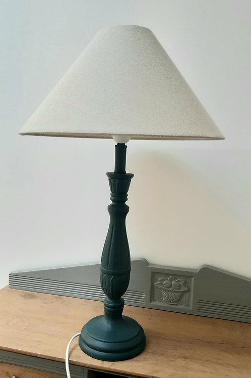Lampe ombre bleue