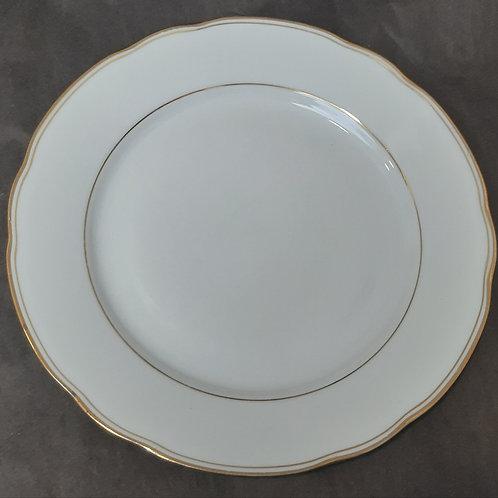 Assiette plate porcelaine Bavaria