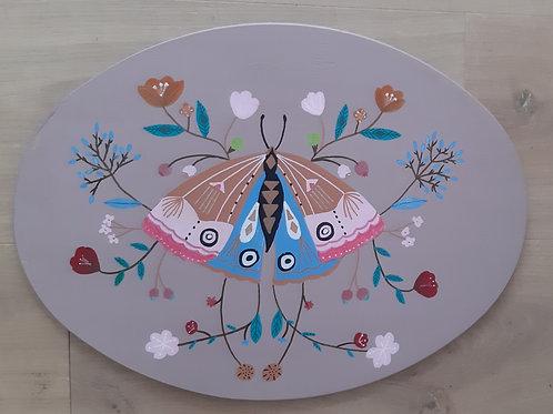 Plaque papillons