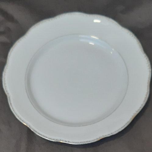 Assiette plate porcelaine SFP