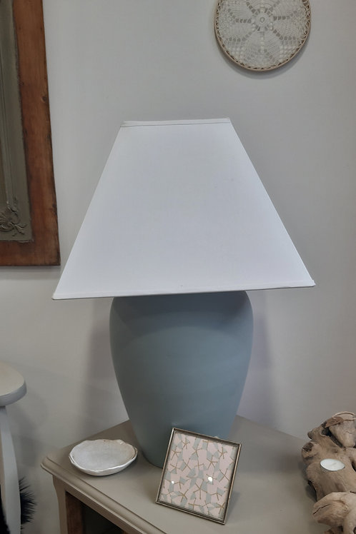 Grande lampe vert amande