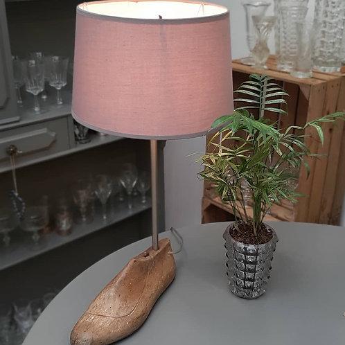 Lampe sur forme à chaussure