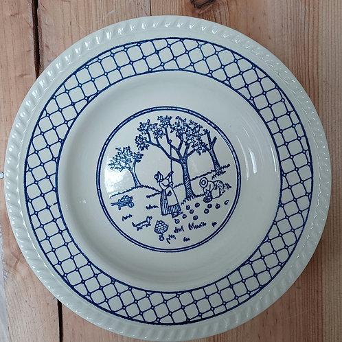 Assiette creuse en céramique