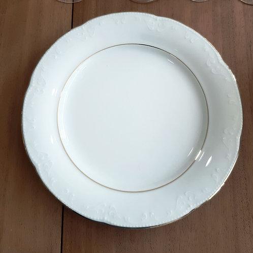 Assiette plate en porcelaine Bavaria