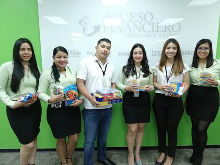 Entrega de Donación a la Escuela ESIPRO