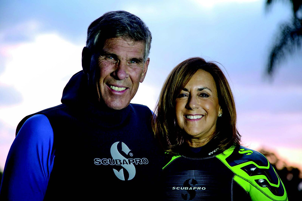 Howard and Michele Hall receive the 2016 Hans Hass Diving to Adventure Award