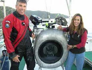 Howard & Michele Hall 2017 DIVING PIONEERS from Beneath the Sea!