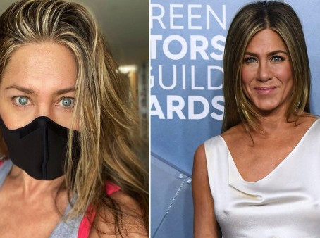 JENNIFER ANNISTON URGES PEOPLE TO WEAR A MASK