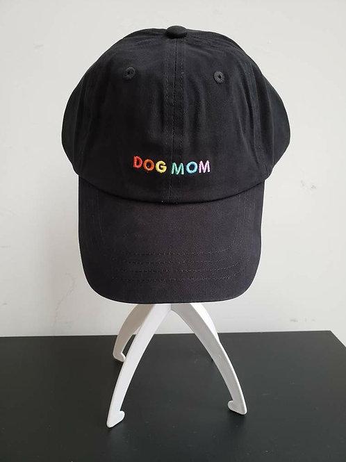 Ball Cap-Dog Mom Rainbow