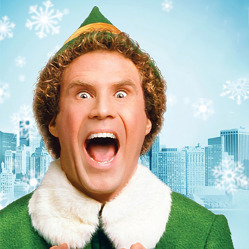 Holiday Movies with Cats! Elf!!!