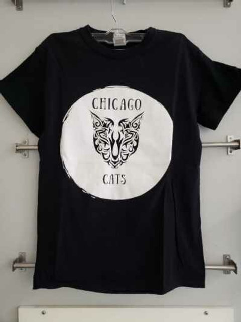 Chicago Cats Tattoo T-shirt