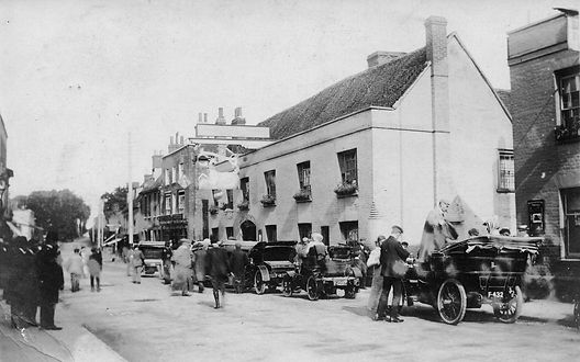 White Hart Hotel, Witham early 20th century.