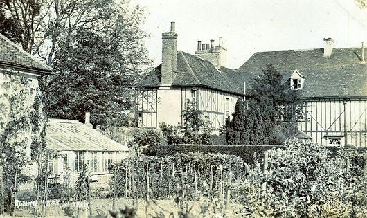 Rear of Roslyn House before development.