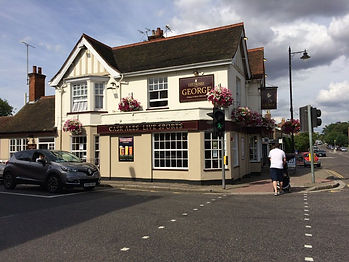 The George, Witham, present day.