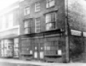 building which stood where Grove centre entrance is now.