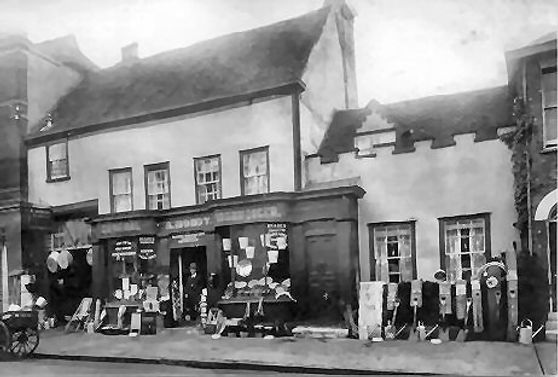 Mondy's Shop Newland St. Circa 1925.