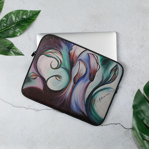 Lily Patch Laptop Sleeve