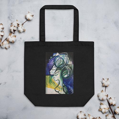 Golden Heart Eco Tote Bag