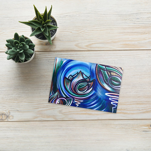 Cool Lotus Postcard