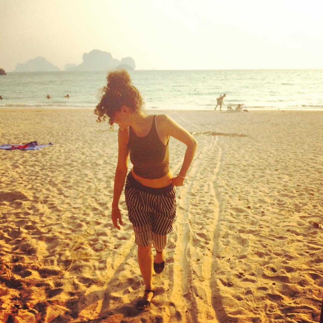 Healing beach time