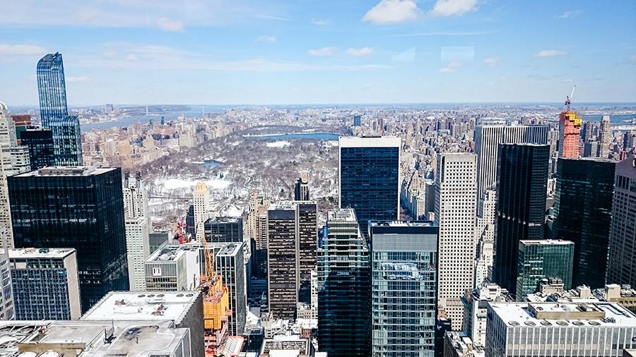Aussicht vom Rockefeller Center