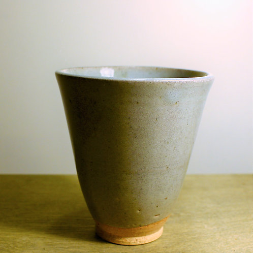 Grey and Green Cup
