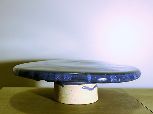 Blue and Green Cake Stand