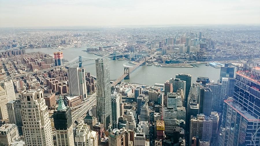 Ausblick vom One World Trade Center in New York