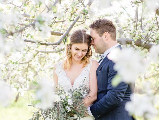 After Wedding Shooting in Stade zur Apfelblüte