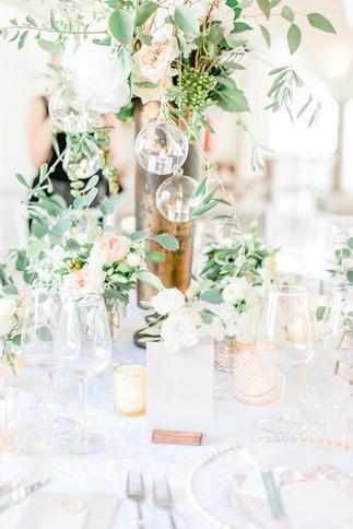 Tischdekoration Hochzeit Pastell