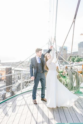 Hochzeit auf der Rickmer Rickmers