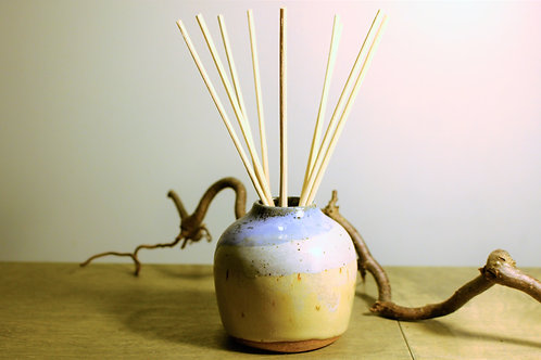 White and Light Blue Oil Diffuser