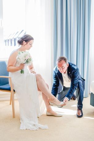 Getting Ready der Braut in Buxtehude