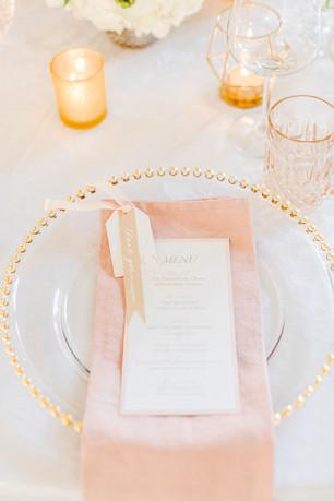 Tischdekoration Hochzeit Pastelltöne