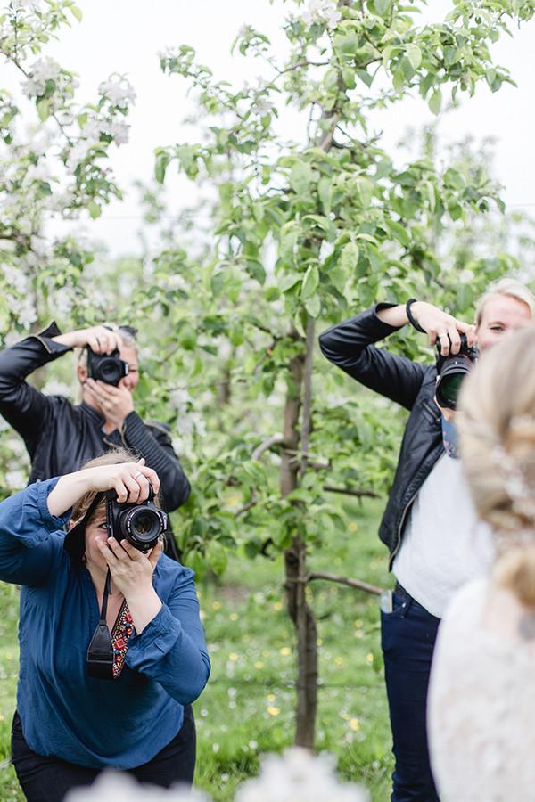 Hochzeitsfotosgrafie Workshop im Alten Land