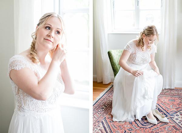Braut Getting Ready in Jork