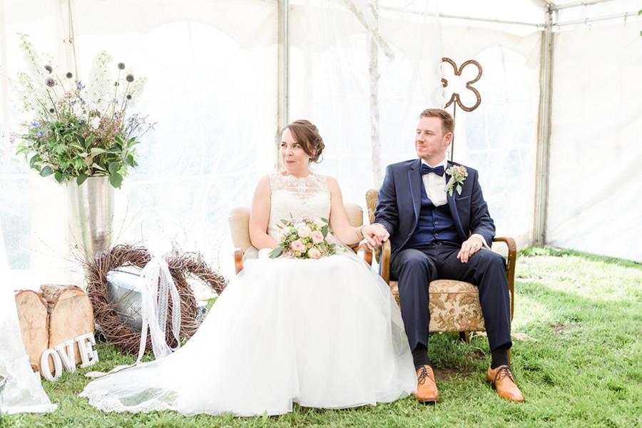 Heiraten auf dem Obsthof Schuback in Jork