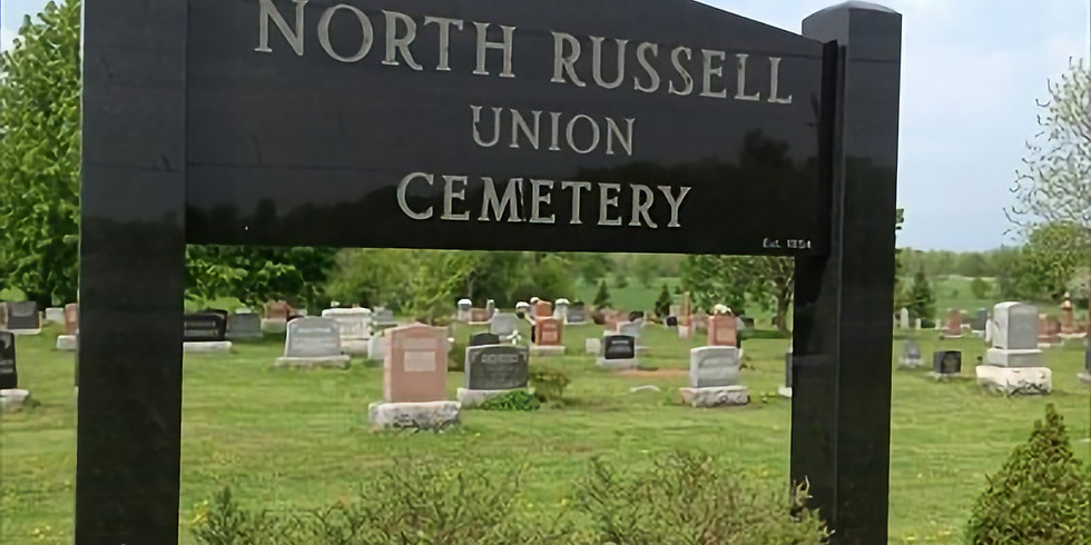 North Russell Union Cemetery Memorial Service