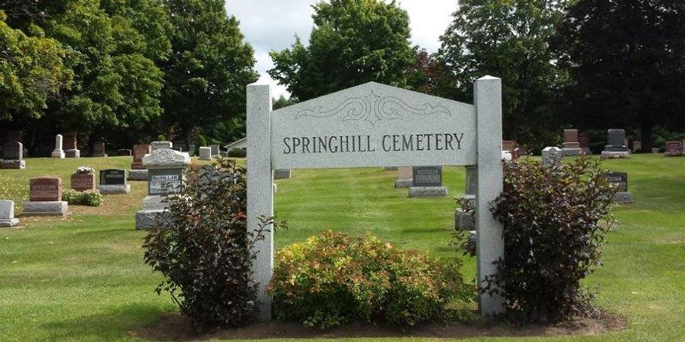 Springhill Cemetery Memorial Service