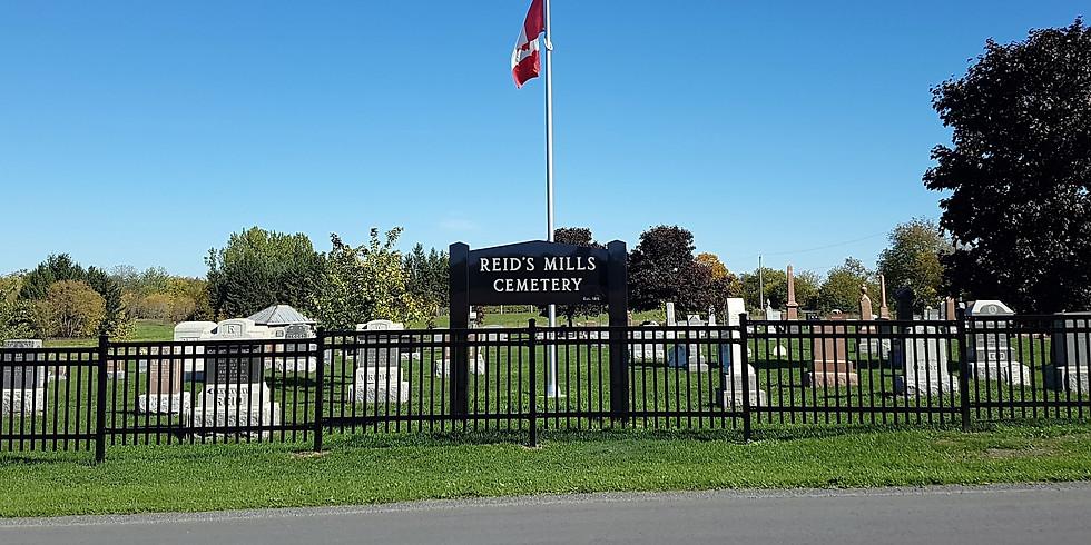 Reids Mills Cemetery Memorial Service