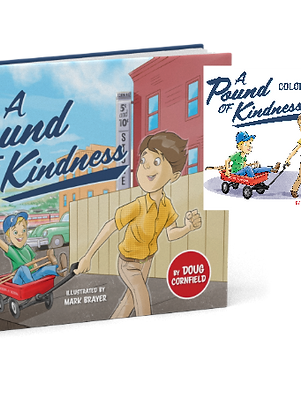 A Pound Of Kindness (Signed) & Coloring Book