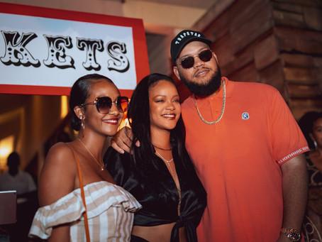 Rihanna Attends A Circus Themed Zirque Event