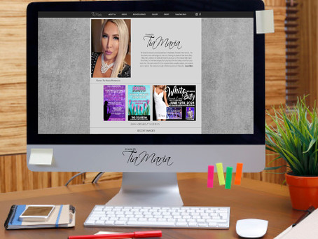 New Website for Events by Tia Maria